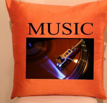 Music  Cushion / Sofa Cushions